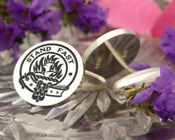 Grant Scottish Clan Sterling 925 Silver Cufflinks - Hand Made In The Uk