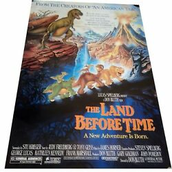 The Original Land Before Time Movie Poster 1988 Collectors