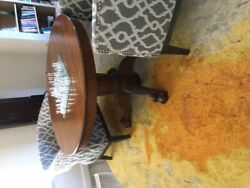 Antique Claw Foot Table, Oak, Dining Or Breakfast Nook. No Leaves.