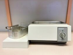 Biosonic Whaledent Ultrasonic Cleaner Tank- Approx 2 Gal. - Used- Good Condition