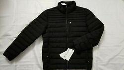New Calvin Klein Packable Water Resistant Black Puffer Jacket Size M