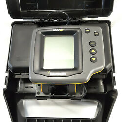 Hummingbird 200dx Dual Beam Temp/depth Fish Finder Portable Untested As Is