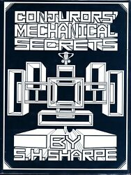 Conjurers' Mechanical Secrets Magic Book 1st Ed-stage Trick Illusion-coins-cards