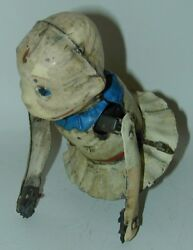 The Newlyweds Snookums Crawling Baby Hand Painted Tin Wind-up Toy Germany 1915