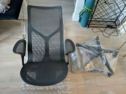 Cosm Chair By Herman Miller Authentic Brand New Warranty High Back - Graphite