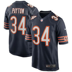 New Nfl Chicago Bears Walter Payton Nike Game Retired Player Edition Jersey Nwt