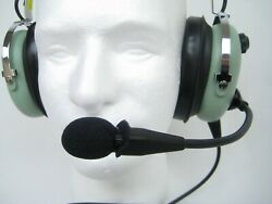 David Clark H10-13anr Remanufactured Anr Headset Active Noise Reduction