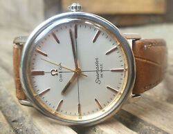 Gorgeous Omega Seamaster Deville 1966 Watchmaker Serviced Year Warranty