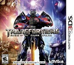 Transformers Rise Of The Dark Spark Nintendo For 3ds Very Good