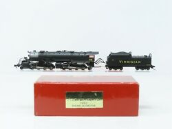 N Scale Walthers Heritage 920-90108 Vgn Virginian 2-8-8-2 Steam 738 W/ Dcc