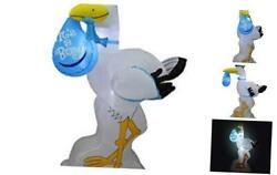 6 Foot Tall Baby Shower Inflatable Blue Stork Itand039s A Boy Special Delivery Baby