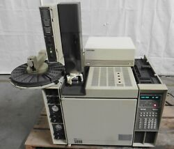 G178379 Hp 5890 Gas Chromatograph W/7673 Injector And 7673 Controller 5890a