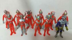 1970 About 1990 Ultraman Of The Time Soft Vinyl 11sets