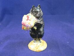 Beswick Beatrix Potter Duchess With Flowers Bp2a Gold Oval
