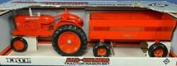 Ertl 1989 Allis-chalmers Tractor Wagon Set Wd-45 1/16 Scale New In Package 1209