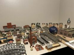 Ho Train Model Railroad Buildings And More Rare Over 100 Items