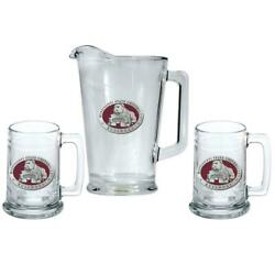 Mississippi State Bulldogs Pitcher And 2 Stein Beer Set Glass Set