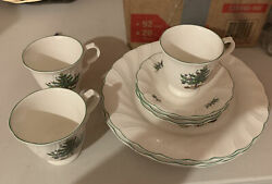 Vintage Christmas Dishes Set Of 3