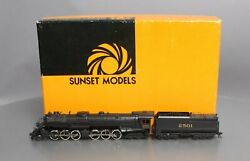Sunset Models Ho Brass Bando Sal 2-6-6-4 Kb1a Steam Loco And Tender Ex/box