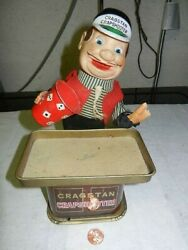 Cragstan Crapshooter Battery Operated Toy, Made In Japan, For Parts Or Repair