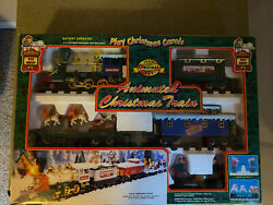 Vintage 1994 Animated Christmas Magic Musical Train Set By Toy State
