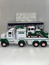 Collectors 2013 Hess Gas Toy Truck And Tractor With Original Box Tested Mint