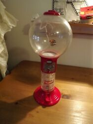 18 Gumball Wizard Spiral Candy Machine Cracked Globe Display Or Parts Only