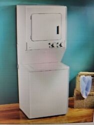 Maytag Lse7806ace 28 Inch Electric Laundry Center