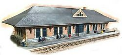 The N Scale Architect 10049 N New York Central Lines West Station Station Kit