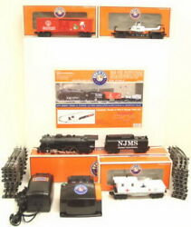 Lionel 6-21796 New Jersey Med School Surgical O Gauge Steam Freight Train Set Mt