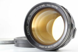 [overhauled Exc+5] Canon 50mm F0.95 Dream Lens For 7 7s L39 Leica Ltm From Japan