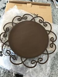 Southern Living at Home COVINGTON ACCENT TRAY Charger #41150