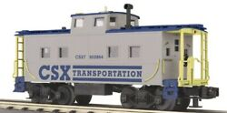✅mth Railking Csx Steel Caboose 30-7765 For Diesel Engine Lighted O Scale Gauge