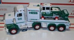Hess Toy Truck And Tractor Lights Sounds And Tractor Moves. Excellent Conditio 2013