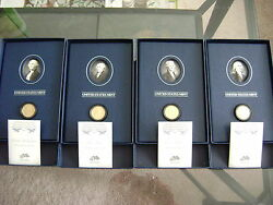 2007 Us Mint Presidential 1 Coin Historical Signature 4-coin Proof Sets