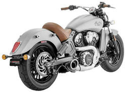 Freedom Performance Turnout 21 Exhaust System Chrome/black Indian Scout 15-17