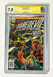 Daredevil 168 Cgc 7.0 White Pages Signature Series Frank Miller 1979 Marvel
