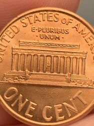 Amazing 1992 D Lincoln Penny Double Died Reverse Amazing Grade Uncirculated