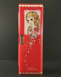 Vintage 1980and039s Kutsuwa Selena Deluxe 5-door Japan Anime Pencil Case Clean Rare