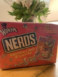 Vintage 1999 Willy Wonka Nerds Candy Box Sealed Container Valentine