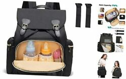 Diaper Bag Backpack Baby Bags Maternity Nappy Changing Bag for Mom and Dad $39.39