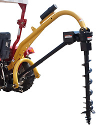 Model 1000 3 Point Post Hole Digger W/12 Heavy Duty Auger