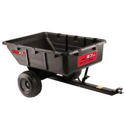 Brinly-hardy Tow-behind Poly Utility Cart 10 Cu. Ft. 650 Lb.