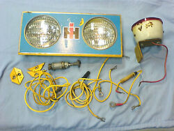 Cub Cadet 71,102,122,123 Complete Headlight Package. Used Part, See Pictures