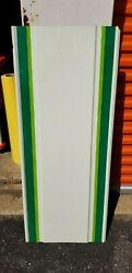 Vintage 7up Seven Up Metal Sign Blank 47.75x19.5 New Old Stock D