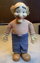 Vintage Doll Mammy And Pappy Yokum Baby Barry Toy Co. 1957 Antique Doll