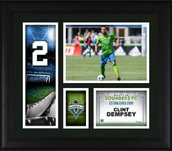 Clint Dempsey Seattle Sounders Framed 15 X 17 Player Collage