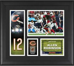 Allen Robinson Chicago Bears Frmd 15 X 17 Player Collage And Piece Of Gu Ball