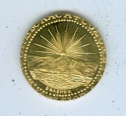 Gallery Mint Eb On Wing Brasher 1/2 Doubloon-- .999 Gold