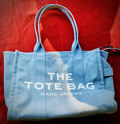 The Marc Jacobs Traveler Canvas Tote Bag Blue $200.00
